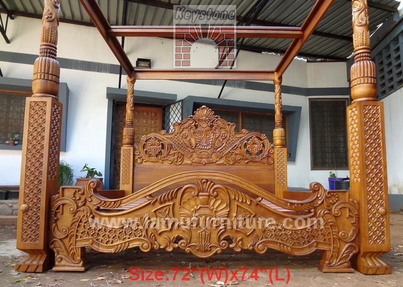 Maharaja Bed 1 Lamu Furniture