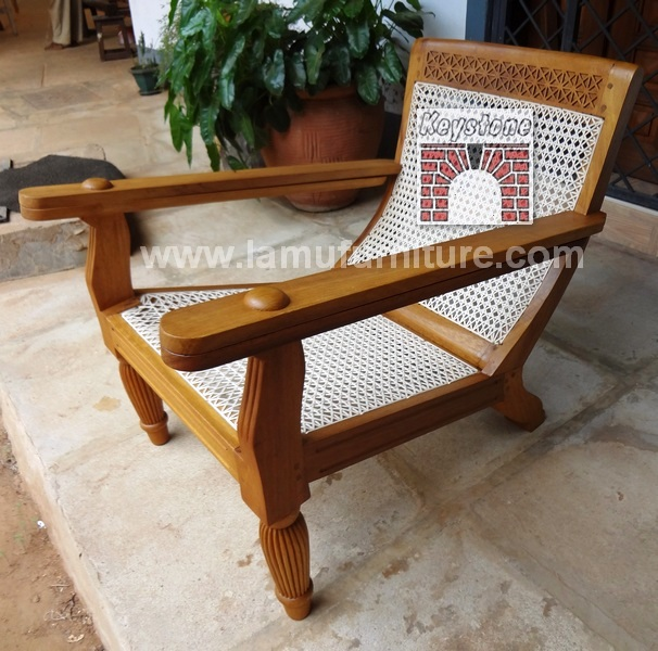 Plantation Chair 13 & Plantation Chair 13 - Lamu furniture