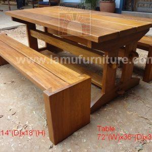 Garden Table 8a
