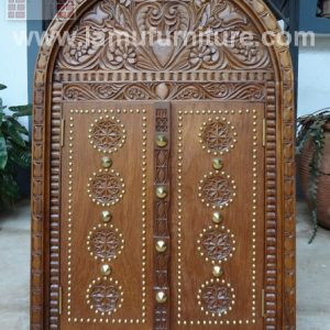 Mini Lamu Style Door 4a-With Shelf