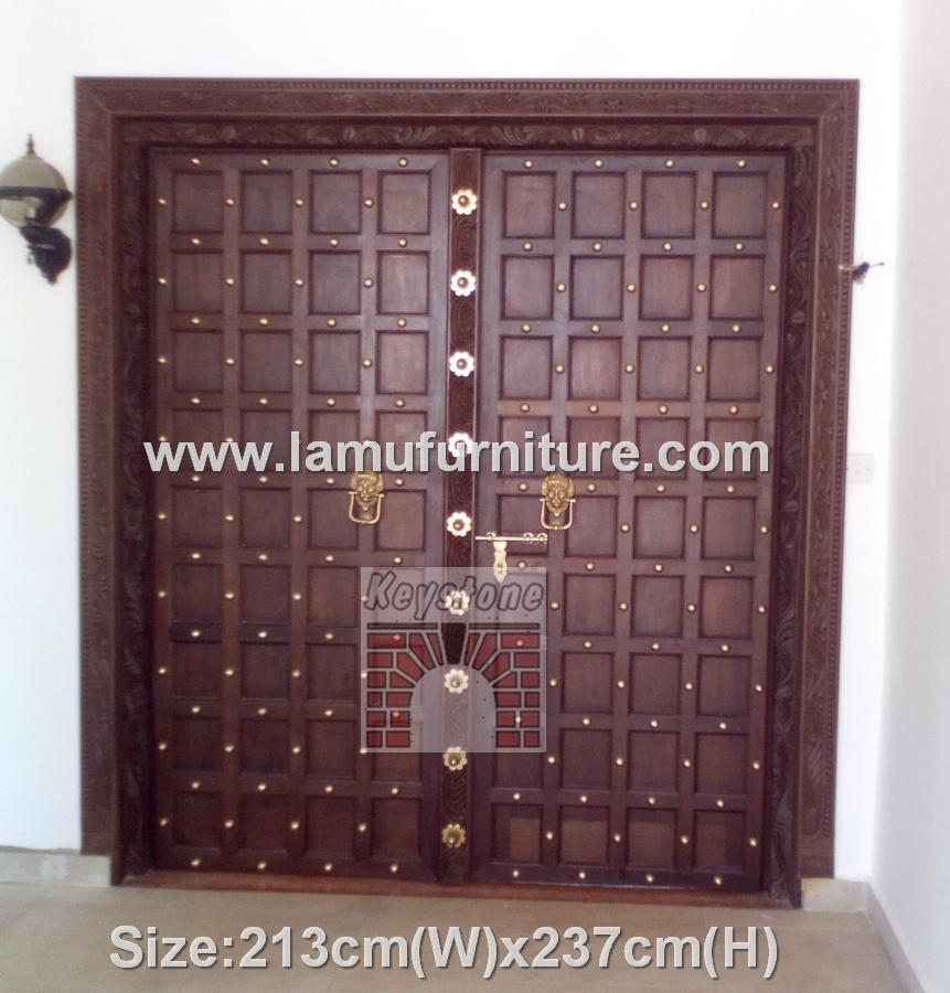 Lamu Style Door 19 & Carved u0026 Lamu Doors Archives - Lamu furniture